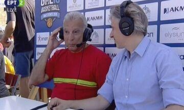 Γκάλης ενόψει Μουντομπάσκετ: «Θα μας βοηθήσει ο Αντετοκούνμπο» (vid)