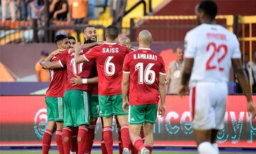 Copa Africa 2019: Με αυτογκόλ στο 89΄ το Μαρόκο λύγισε 1-0 τη Ναμίμπια (vid)