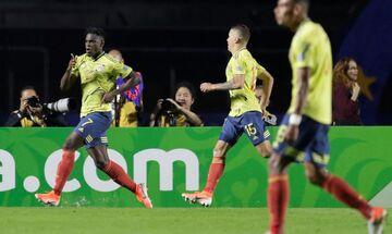 Live Streaming: Κολομβία-Παραγουάη 1-0