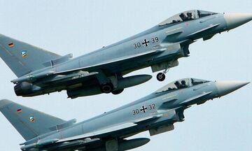Βίντεο από τη συντριβή δυο τζετ eurofighter στη Γερμανία!