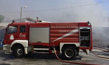 Φωτιά στο Μαρούσι κοντά στο «The Mall Athens»