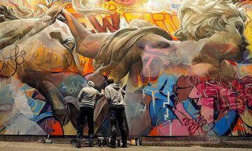 Οι θεοί του Ολύμπου γίνονται street art σε όλο τον κόσμο