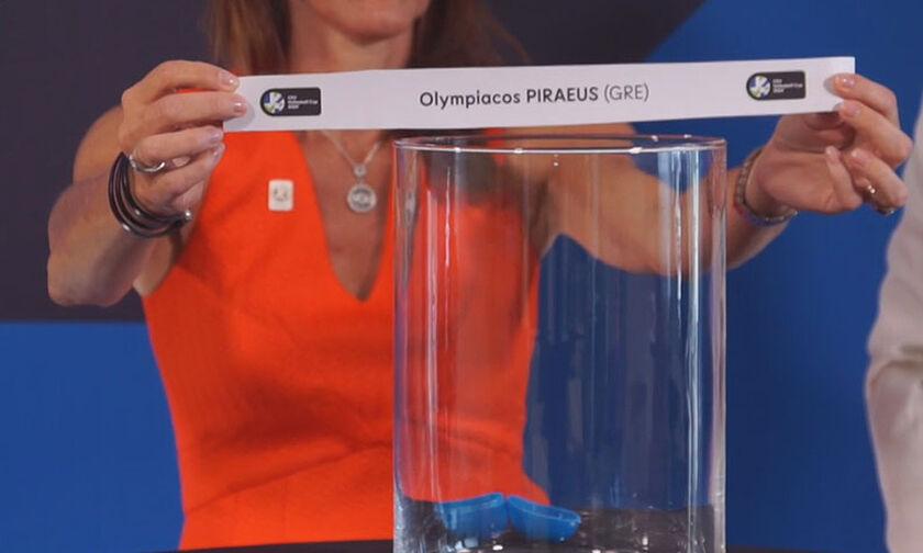 Κλήρωση CEV Cup: Με την ιταλική Μόντενα ο Ολυμπιακός!