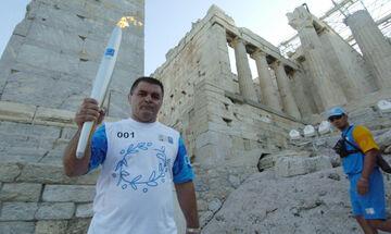 Το αντίο των Ελλήνων Ολυμπιονικών στον Μπάμπη Χολίδη