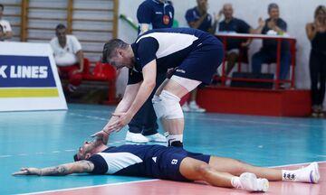 Silver League Volley: Ελλάδα-Ρουμανία 2-3: Λάθη από παίκτες και Ανδρεόπουλο