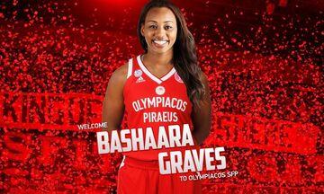 Επίσημο: Στον Ολυμπιακό η  Μπασάρα Γκρέιβς