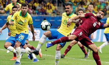 LIVE Streaming: Βραζιλία-Παραγουάη (03:30)