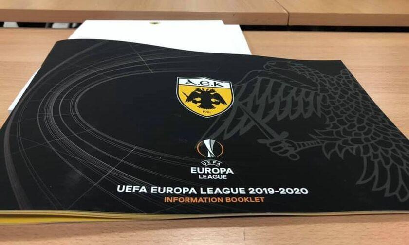 «Πράσινο φως» της UEFA στην ΑΕΚ ενόψει Europa League (pic)