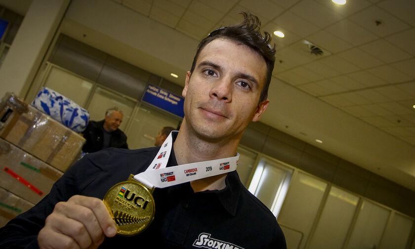Δεύτερο χρυσό μετάλλιο για τον Βολικάκη