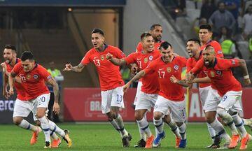 Copa America 2019: Κολομβία - Χιλή και στα πέναλτι χαμογέλασαν οι Χιλιανοί (vid)