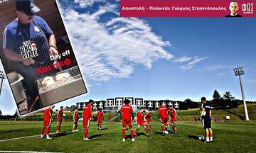Ρεπό και μπάρμπεκιου για τους ποδοσφαιριστές του Ολυμπιακού (pics)