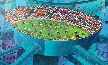 Mordillo: Το δικό του ποδόσφαιρο μέσα από τα σκίτσα του (video)