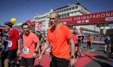 Ο Παναγιώτης Αγγελόπουλος έτρεξε στον Olympus Marathon