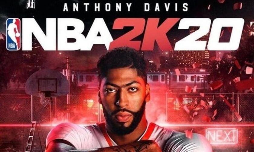 Στο εξώφυλλο του NBA 2K20 ο Άντονι Ντέιβις (pic/vid)