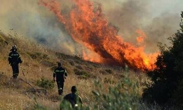 Υψηλός κίνδυνος πυρκαγιάς σήμερα Τρίτη 2 /7 (χάρτης)