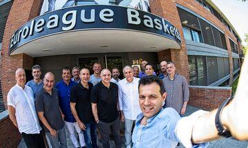 Ιτούδης: Έβγαλε selfie με Μπλατ και τους προπονητές της EuroLeague (pic)