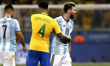 LIVE Streaming: Βραζιλία - Αργεντινή (03:30)