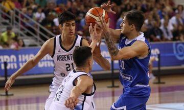 Παγκόσμιο Κύπελλο U19: Αργεντινή-Ελλάδα 73-68 - Mε Γαλλία στα νοκ-άουτ