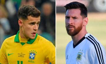 Βραζιλία - Αργεντινή (03.30): Κοουτίνιο εναντίον Μέσι!