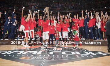 Αυτά είναι τα ρόστερ της EuroLeague για την σεζόν 2019-2020