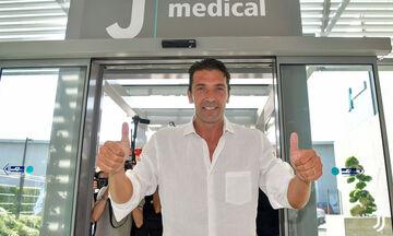 Μπουφόν: Επέστρεψε στη Γιουβέντους ο 41χρονος τερματοφύλακας! (vids+pics)