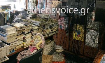 Athens Voice: Δέχτηκε επίθεση από τον Ρουβίκωνα (vid+pics)