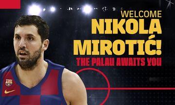 Η Μπαρτσελόνα ανακοίνωσε  τον Μίροτιτς (pic)