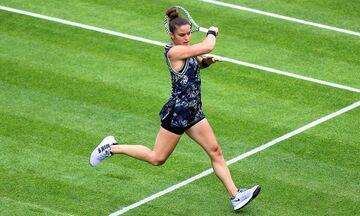 Αποκλείστηκε και στο διπλό του Wimbledon η Σάκκαρη