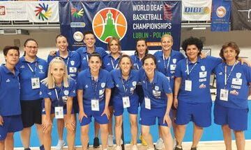 Παγκόσμια πρωταθλήτρια η Εθνική κωφών γυναικών, 51-42 τη Λιθουανία