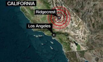 Η στιγμή του  σεισμού 7,1 Ρίχτερ στην Καλιφόρνια