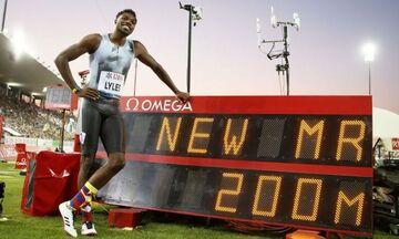 Ο Λάιλς τέταρτος ταχύτερος όλων των εποχών στα 200 μ !