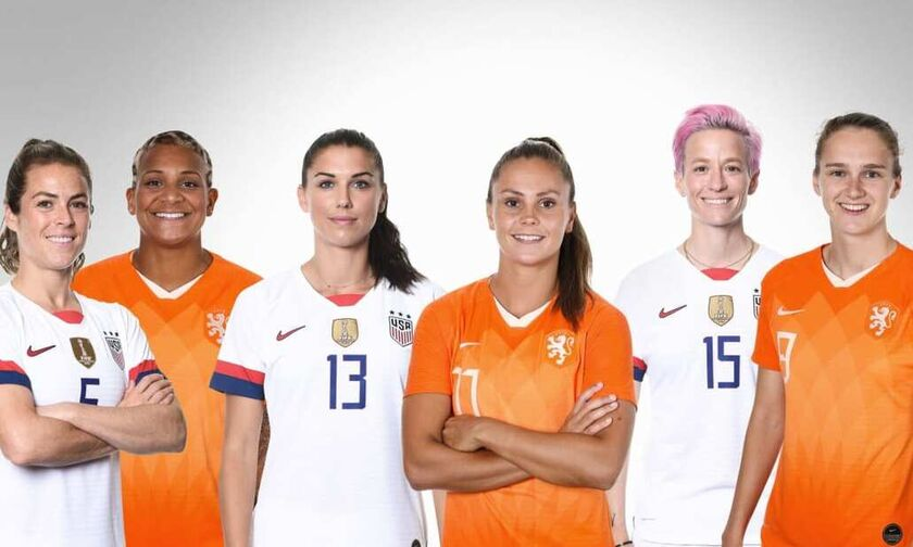 ΗΠΑ-Ολλανδία στον αποψινό (18.00) τελικό του Μουντιάλ Γυναικών
