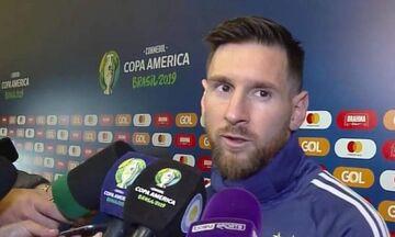 Copa America 2019: Μέσι: «Διαδικασία στημένη για την Βραζιλία» - Conmebol: «Έλλειψη σεβασμού» (pic)