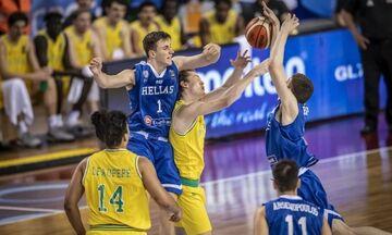 Αυστραλία - Ελλάδα 71-52: Στη 10η θέση οι Έφηβοι