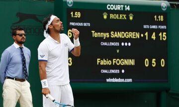 Φονίνι: Κινδυνεύει με αποκλεισμό από δυο Grand Slam για τη «βόμβα στο Wimbledon» (vid)