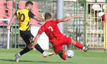 AEK-Γκόρνικ: Το γκολ του Λιβάγια για το 1-0 (vid)
