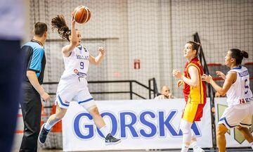 Η Εθνική Νεανίδων νίκησε και τη Βόρεια Μακεδονία μέσα στα Σκόπια