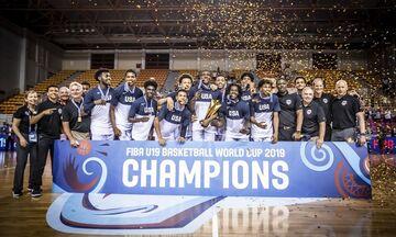 Παγκόσμιο Πρωτάθλημα U19: Οι ΗΠΑ κατέκτησαν το τρόπαιο, 93-79 το Μάλι