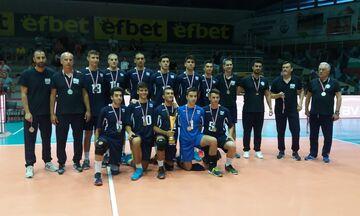 Βαλκανικό Πρωτάθλημα Βόλεϊ Κ17: Ασημένιο μετάλλιο για την Εθνική Ελλάδας