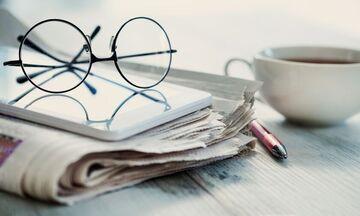 Εφημερίδες: Τα πρωτοσέλιδα σήμερα 8 Ιουλίου