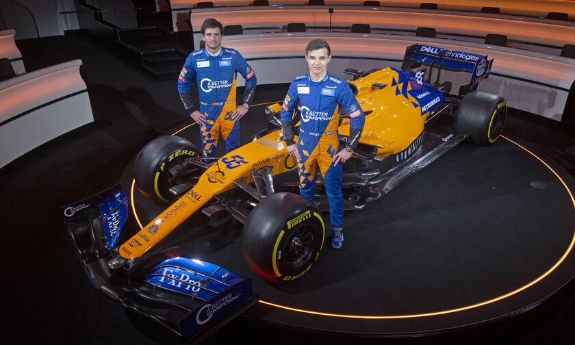 Στη McLaren μέχρι το 2020 o Σάινθ και o Νόρις