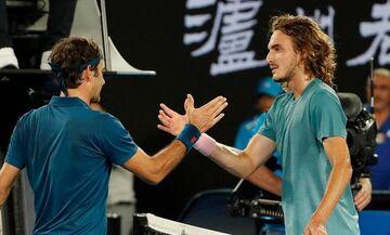 Wimbledon 2019: Το δώρο του Φέντερερ στον Τσιτσιπά