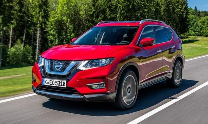 Nissan X-Trail με νέους κινητήρες 1.3 λτ. και 1.7 λτ.