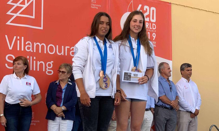 Ιστιοπλοΐα: Χάλκινο στο Παγκόσμιο Πρωτάθλημα Γυναικών οι Παππά και Τσαμοπούλου
