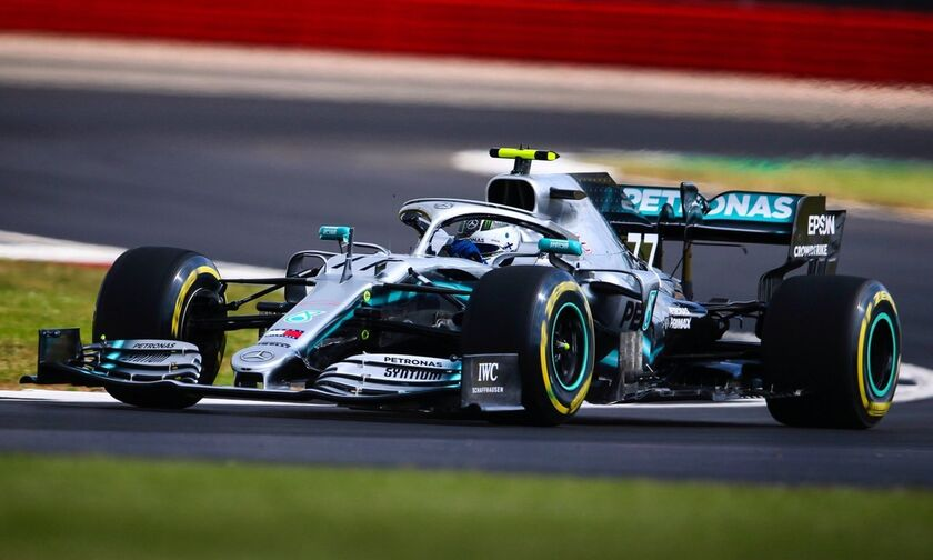 Grand Prix Σίλβερστοουν: Ταχύτερος ο Μπότας στο FP2