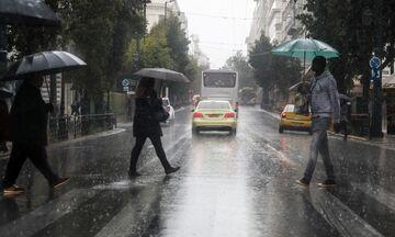 Ερχονται βροχές και καταιγίδες την Κυριακή – Επιδείνωση του καιρού από το βράδυ του Σαββάτου