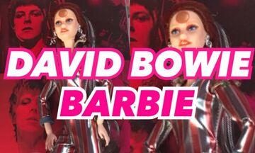 O Ντέιβιντ Μπάουι γίνεται Μπάρμπι!