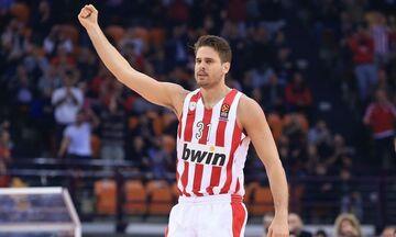 Μπόγρης: «Κατάφερα να πετύχω το παιδικό μου όνειρο και να βάλω τη φανέλα του Ολυμπιακού»