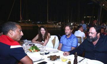 Παρουσία Μαρινάκη το δείπνο Ολυμπιακού και Νότιγχαμ (pics)