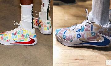 Αντετοκούνμπο: Ζητάει τη γνώμη του κοινού για τα νέα του παπούτσια (pics)